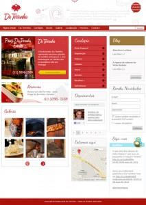 Site Restaurante da Terrinha